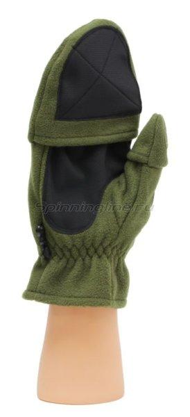 Перчатки-варежки Alaskan Colville Magnet S хаки -  3