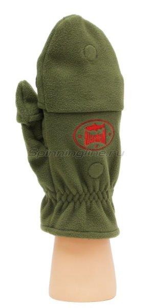 Перчатки-варежки Alaskan Colville Magnet S хаки -  4