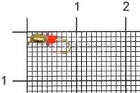 Мормышка Volfram37 Капля d2 золото