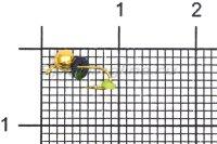 Мормышка Volfram37 Дробь d2.5 золото