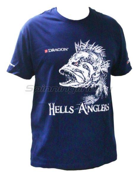 Футболка Dragon Hells Anglers L Окунь -  1