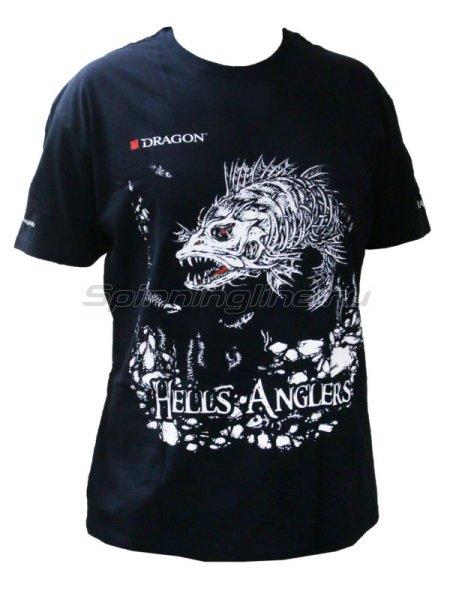 Футболка Dragon Hells Anglers Glow XL Судак -  1