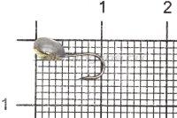 Мормышка Shape свинцовая с коронкой MB070 мельхиор