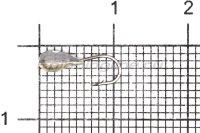 Мормышка Shape свинцовая с коронкой MB071 мельхиор
