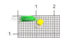 Мормышка True Weight Гвоздекубик зеленый d2 сырный кр.hayabusa