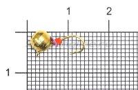 Мормышка Volfram37 Дробь d5 золото