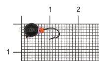 Мормышка Volfram37 Дробь d5 черный