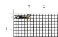 Мормышка Volfram37 Коза Уралка d1.5 с коронкой 118