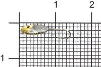 Мормышка Nord Water's Овсинка с фаской с отверстием d3.5 AU