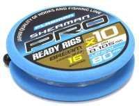 Готовый поводок Flagman Sherman Pro Bream Ready Rig 0,148мм №10