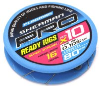 Готовый поводок Flagman Sherman Pro Super Strong Ready Rig 0,105мм №16