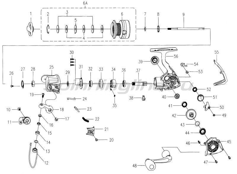 Катушка Mitchell MX4 Spin 40 -  7