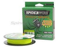 Шнур Spiderwire Stealth Smooth X12 New 150м 0,07мм Yellow