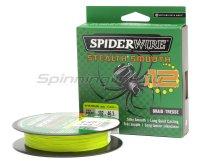 Шнур Spiderwire Stealth Smooth X12 New 150м 0,39мм Yellow