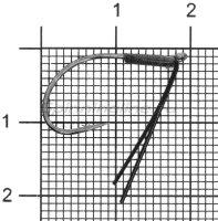 Крючок Vanfook DS-21WB №3