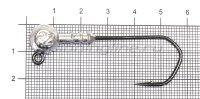 Джиг-головка Narval ZG 120 4/0 10гр упаковка 3 штуки