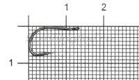 Крючок Hitfish ESH-1011 Danago №8