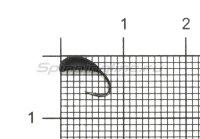 Мормышка Левша НН Пиявка Клепсина d2,7 черный