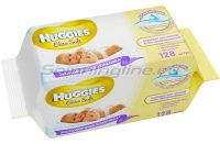 Влажные салфетки Huggies Elite Soft 64х2
