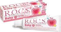 Зубная паста Rocs Baby яблоко