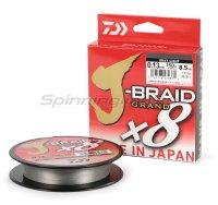 Шнур Daiwa J-Braid Grand X8 135м 0,10мм gray-light