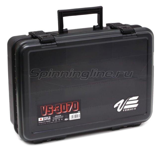 Ящик Meiho Versus VS-3070 Black, арт. VS-3070-B – купить по цене 3421 рубль в Москве и по всей России в рыболовном интернет-магазине Spinningline