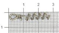 Штопор для силикона Svartzonker Shallow Screw - Small 3см