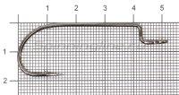 Крючок Nautilus Sting Offset SSW 1003 №3/0