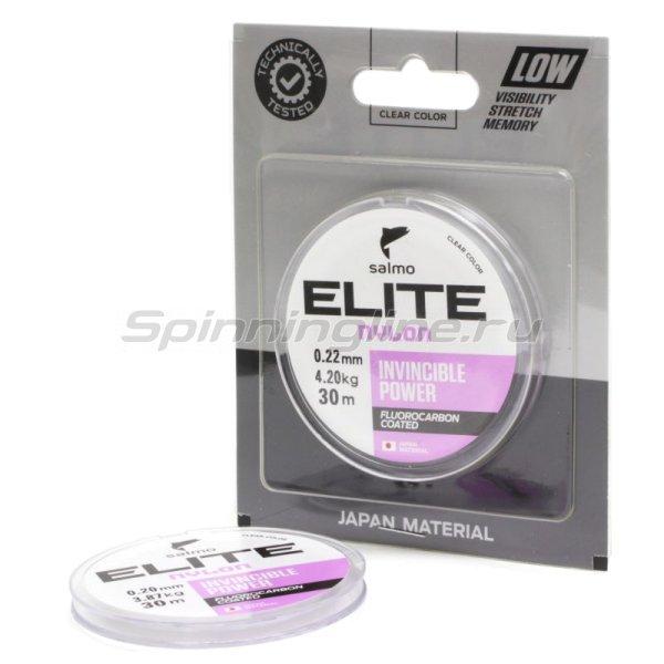 Леска Salmo Elite Fluoro Coated Nylon 30м 0,15мм -  1