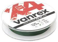 Шнур Lucky John Vanrex X4 125м 0,14мм Moss Green