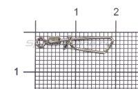 Вертлюг с карабином Nautilus NE0402 №8
