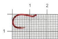 Крючок Daiichi Salmon Egg Hook №4 Red