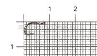 Крючок Kumho Idumezina-R №3 black nickel