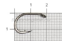 Крючок Nautilus Sting Carp Wide Gape S-1143PTFE №2