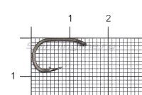 Крючок Nautilus Sting Carp Wide Gape S-1143PTFE №8