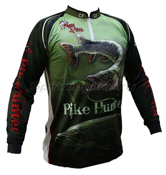 Футболка с длинным рукавом Crazy Fish Pike Hunter Camo XS -  1