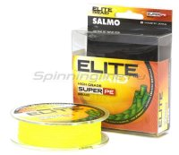 Шнур Salmo Elite Braid Super PE 91м 0,40мм Yellow