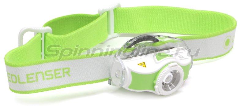 Фонарь Led Lenser MH5 зеленый/белый -  1