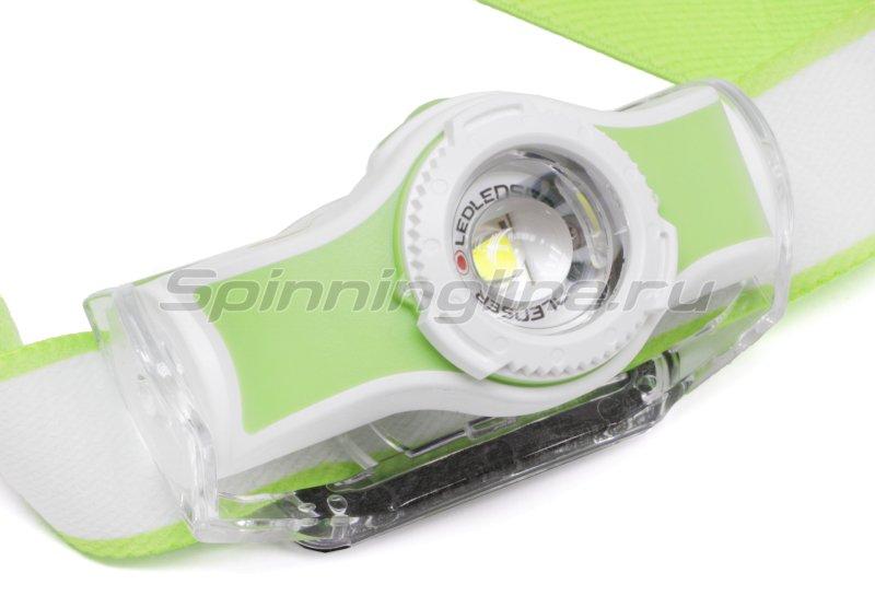 Фонарь Led Lenser MH5 зеленый/белый -  3