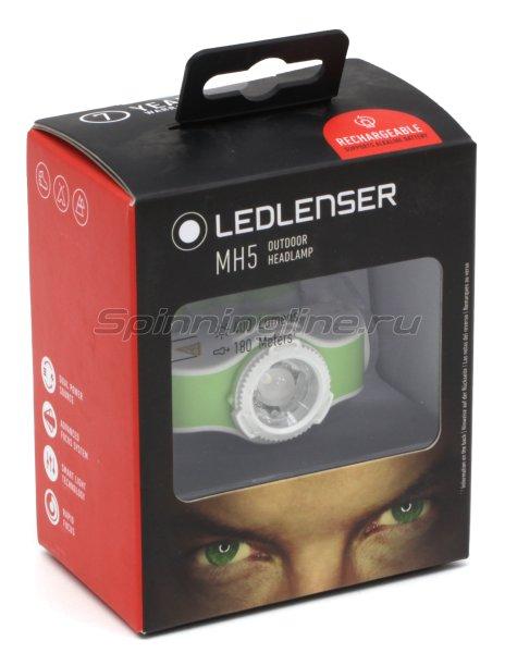 Фонарь Led Lenser MH5 зеленый/белый -  7