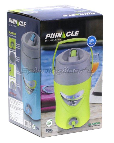 Изотермический контейнер для жидкости Pinnacle Platino 4л зеленый -  4