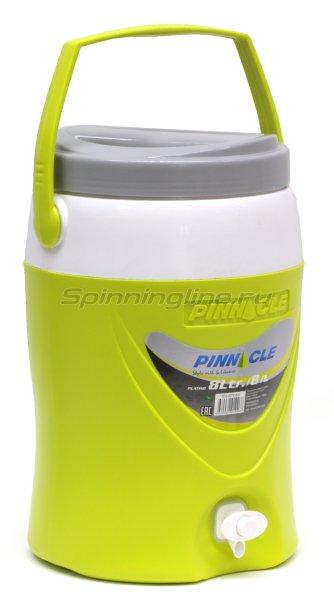 Изотермический контейнер для жидкости Pinnacle Platino 8л зеленый -  1