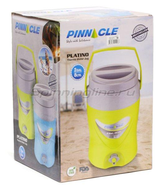 Изотермический контейнер для жидкости Pinnacle Platino 8л зеленый -  4