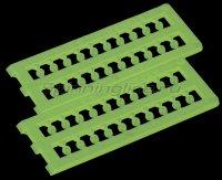 Бусины пластиковые Stonfo Perline Elite  Fosforescente 2,2мм