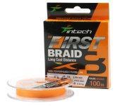 Плетеный шнур Intech First Braid X8
