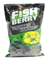 Пеллетс жмых коноплянный гранулированный Fishberry 8мм 1кг