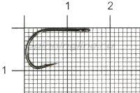 Крючок Gamakatsu LS-2033F Ring Eye N-L №6