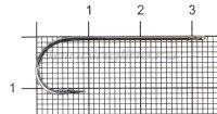 Крючок Gamakatsu LS-5013F N/L 11P №2 Black