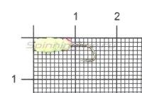 Мормышка светящаяся Shape Личинка SL14L lux Kamasan hook