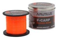 Леска Nautilus F-Carp Fluoro Mono 1200м 0,286 Orange